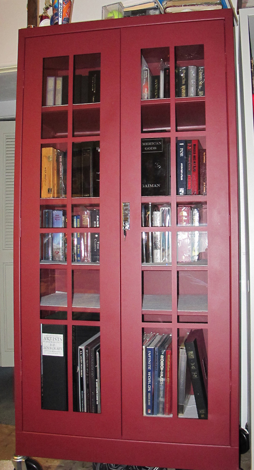 My Bookcases & Books
